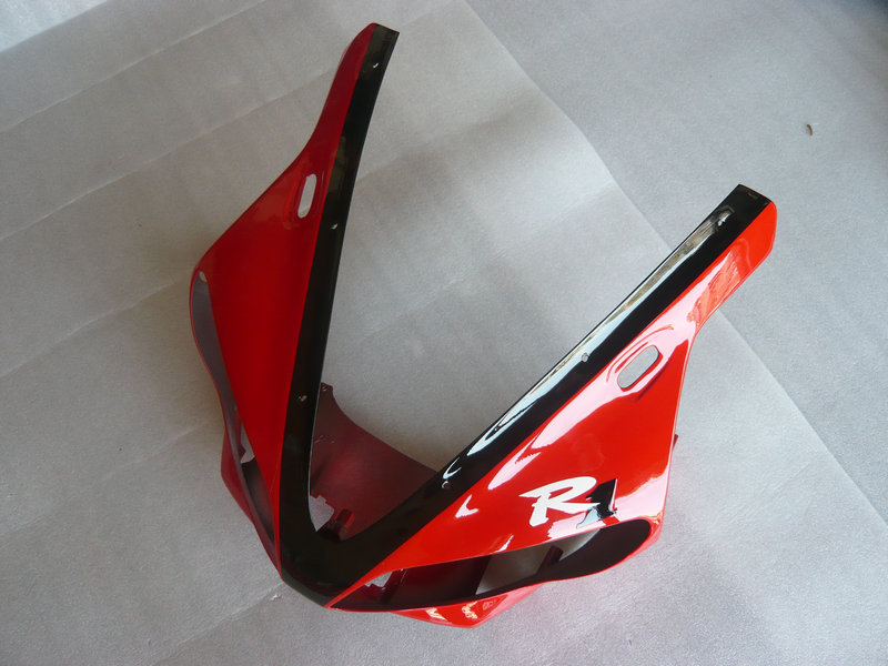 Front part Nose Fairing part for YAMAHA YZFR1 00 01 YZF R1 2000 2001 YZFR1000 yzfr1