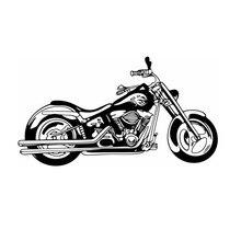 Тяжелый мотоцикл Стикеры автомобиля этикета Классический Панк Плакаты виниловые наклейки на стены autobike Parede Декор росписи autocycle Стикеры