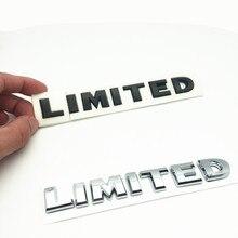 цены на FDIK Car ABS plated Stickers LIMITED Tail Emblem Car styling SUV Car Body Sticker for Jeep Renegade Grand Cherokee Wrangler  в интернет-магазинах
