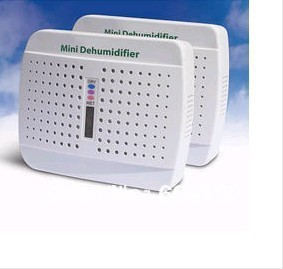 New Free shipping wholesale Absorption of moisture moisture-proof anti-mildew air purifying White Mini dehumidifier