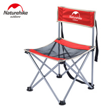 Naturehike Fishing Chair Portable Foldable Outdoor Seat Steel Folding Hiking Picnic Barbecue Beach Vocation Camping Chairs