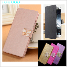 "(3 Types) For Alcatel Idol 3 (Snapdragon 615) Idol3 5.5"" inch Leather Case High Quality Leather Cover Flip Wallet Phone Case"