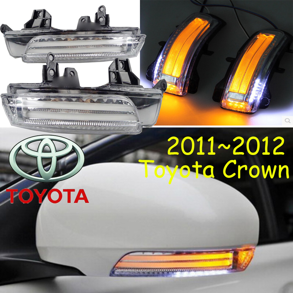 Crown Mirror light,2011~2012,Crown fog light,Free ship!LED,Crown turn light,2ps/set,Crown review mirror crown cmhdm 001