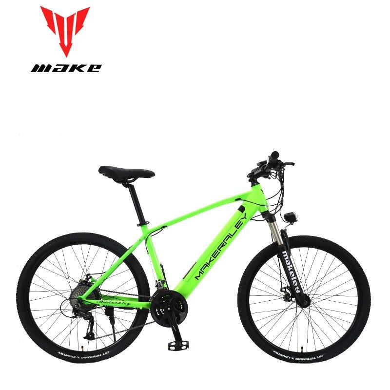Faire vélo électrique vélo 350 W cadre en aluminium 27.5 pouces roues 27 vitesses SHIMAN0 ALТUS