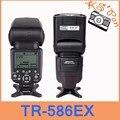 TRIOPO TR 586EX Wireless Flash TTL Speedlite Für Nikon D750 D800 D7100 D7000 als YONGNUO YN 568EX Wt Freies diffusor|speedlite canon|speedlite diffuserspeedlite 580 -