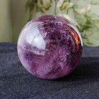 Natural quartz crystal violet crystal ball furnishing articles to heal A1