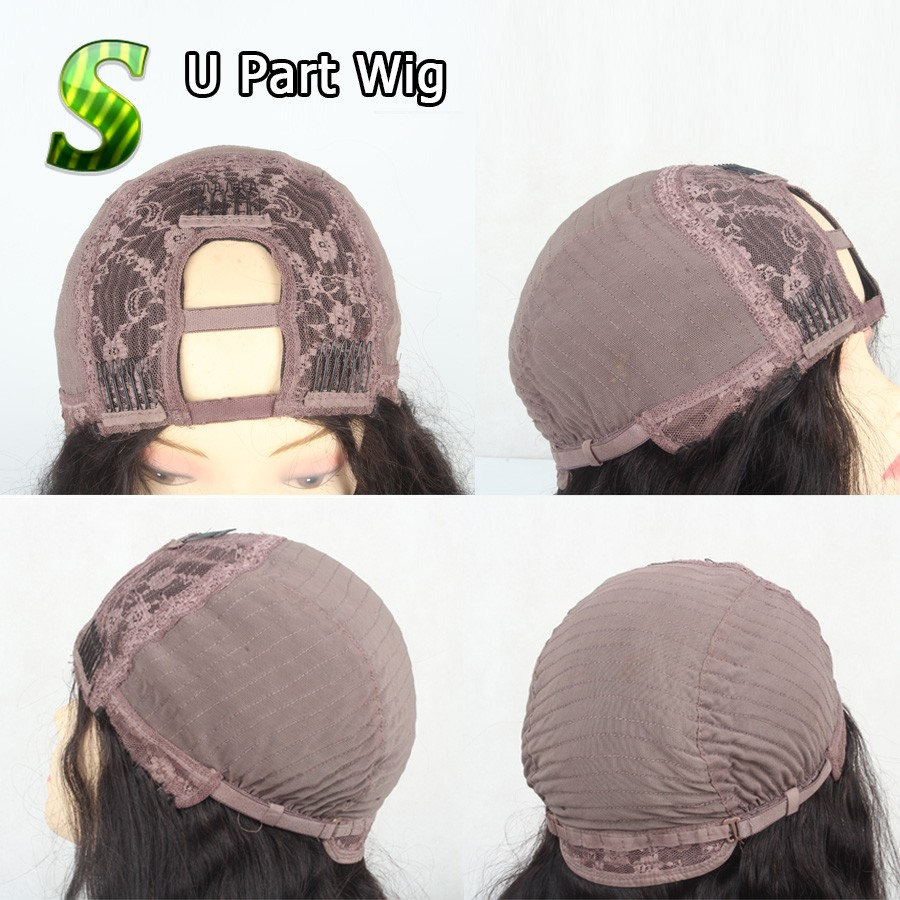 cap U part wig