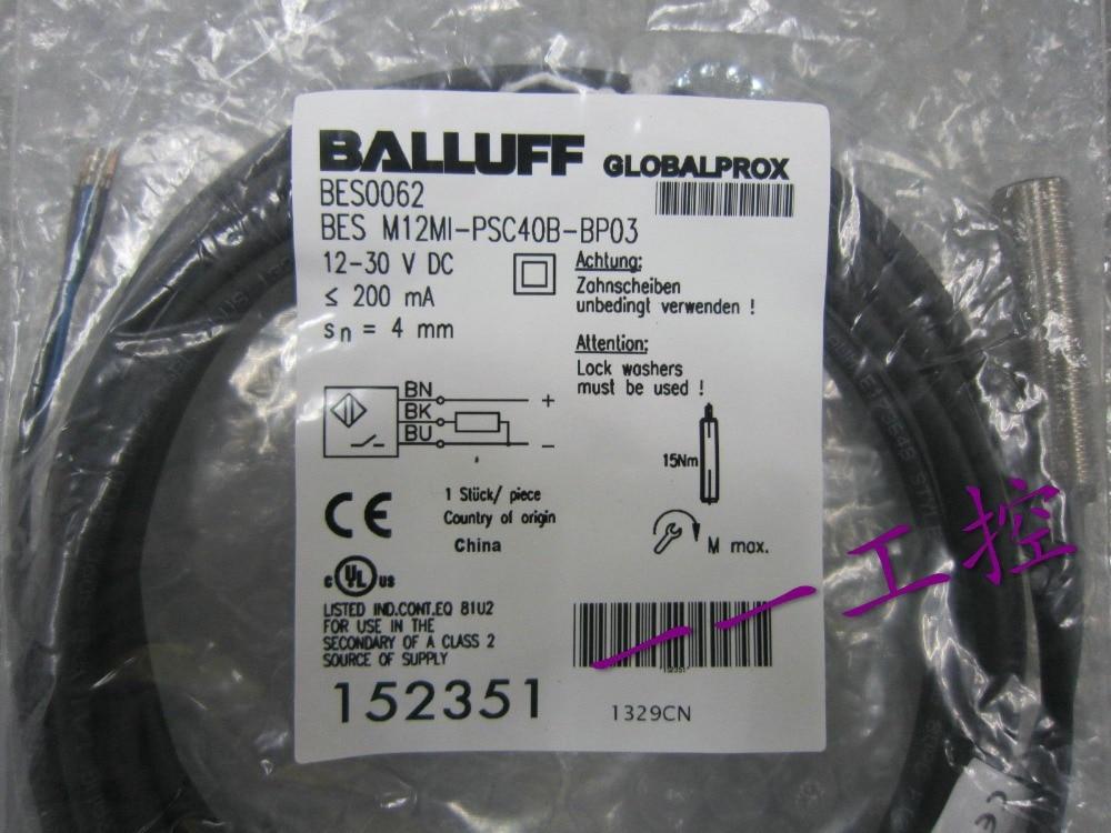 Free Shipping    BES M12MI-PSC40B-BP03 BES0062 152351 Sensor