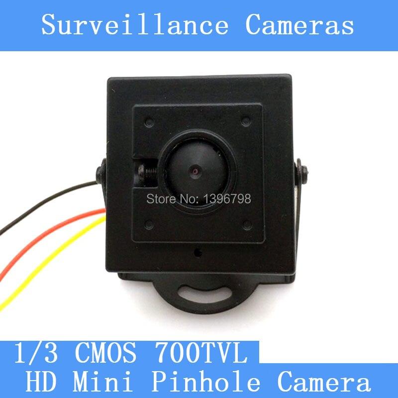Nouvelle Arrivée Mini HD 3.7mm 92-degree Sténopé Caméra 700TVL 1/3 CMOS Couleur de Surveillance CCTV Caméra