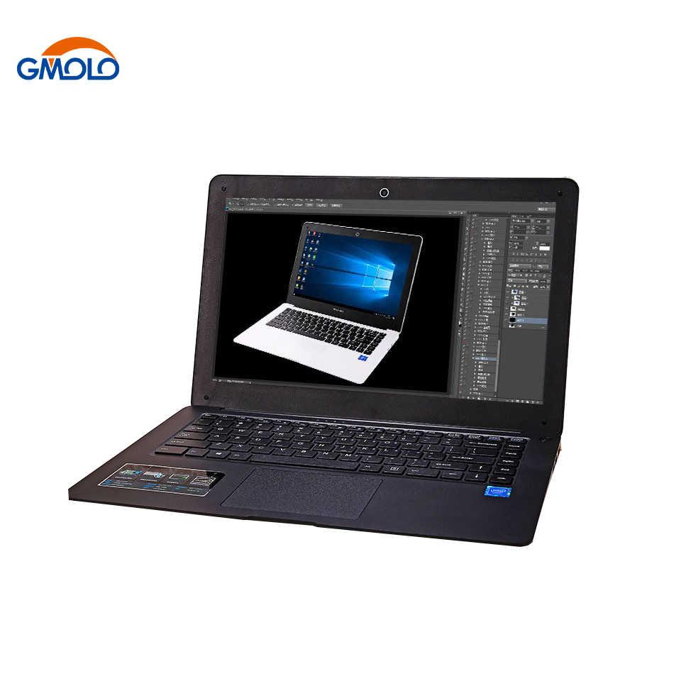 GMOLO 14 inch ultrabook máy tính xách tay Intel N3450 quad core bộ vi xử lý 6 GB RAM64GB EMMC SSD 1 TB HDD HDMI máy ảnh windows 10 máy tính xách tay