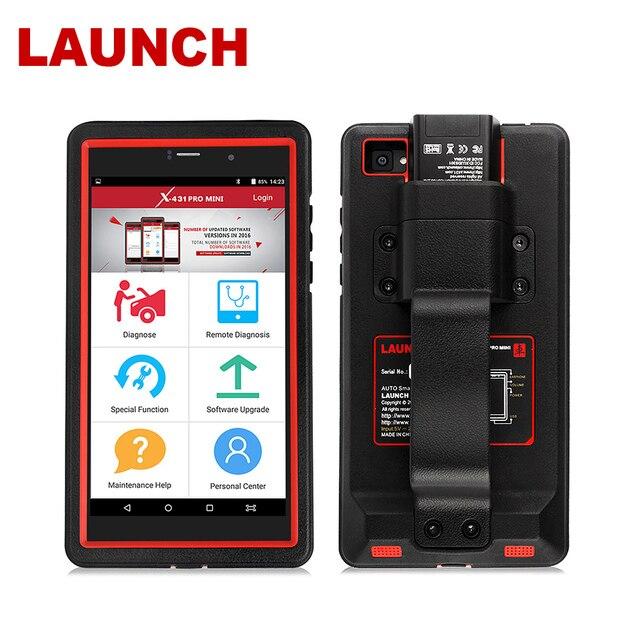 Uruchomienie X431 Pro Mini OBD2 Auto pełny System narzędzie diagnostyczne wsparcie Bluetooth/Wifi X 431 Pro Mini skaner samochodowy 2 lata darmowa aktualizacja
