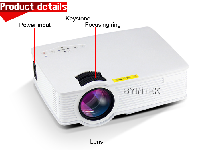 Smartphone mini phone android smart video gm60 portable hd for Best mini projector for powerpoint presentations