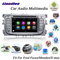 Liandlee Car Android System For Ford For Focus For Mondeo S max Radio CD DVD Player GPS Navi Navigation HD TV Screen Multimedia