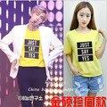 Deus masculino Jin JIN Shuozhen BTS clube de jovens ao redor da porta à prova de balas com os homens/mulheres amantes de manga curta T-shirt resume ternos