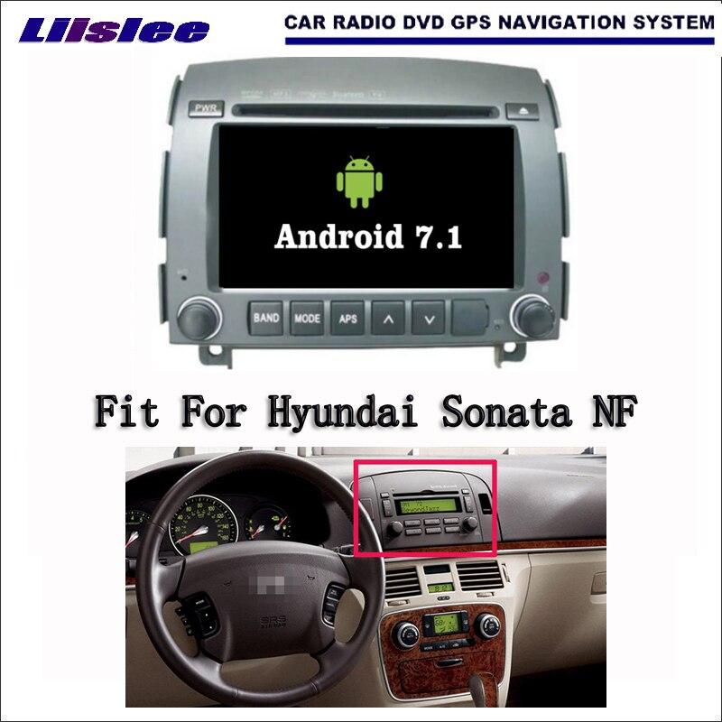 Android 7.1 2G RAM Pour Hyundai Sonata NF 2006 ~ 2008 De Voiture Radio Audio Vidéo Multimédia Lecteur DVD WIFI DVR GPS Navi Navigation
