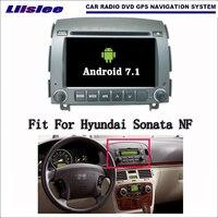Android 7,1 2G ram для Hyundai Sonata NF 2006 ~ 2008 автомобильное радио, аудио и видео мультимедийный dvd плеер wifi DVR gps навигатор