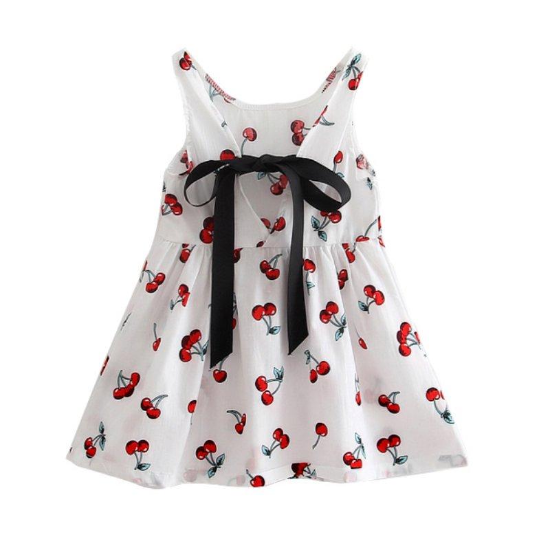Children-Girls-Clothes-Summer-Girl-Dress-Kids-Sleeves-Printing-cotton-dresses-Vestidos-Dress-for-Girl-2
