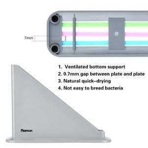 Image 5 - Fissman Cutting Board Plastic Mats Non slip Anti Bacterium Chopping Block Set of 3pcs