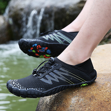 36 46 Unisex Summer Water Shoes Men Five Finger Outdoor Upstream wading Net Hiking Five claw Hiking Lightweight Breathable Shoes