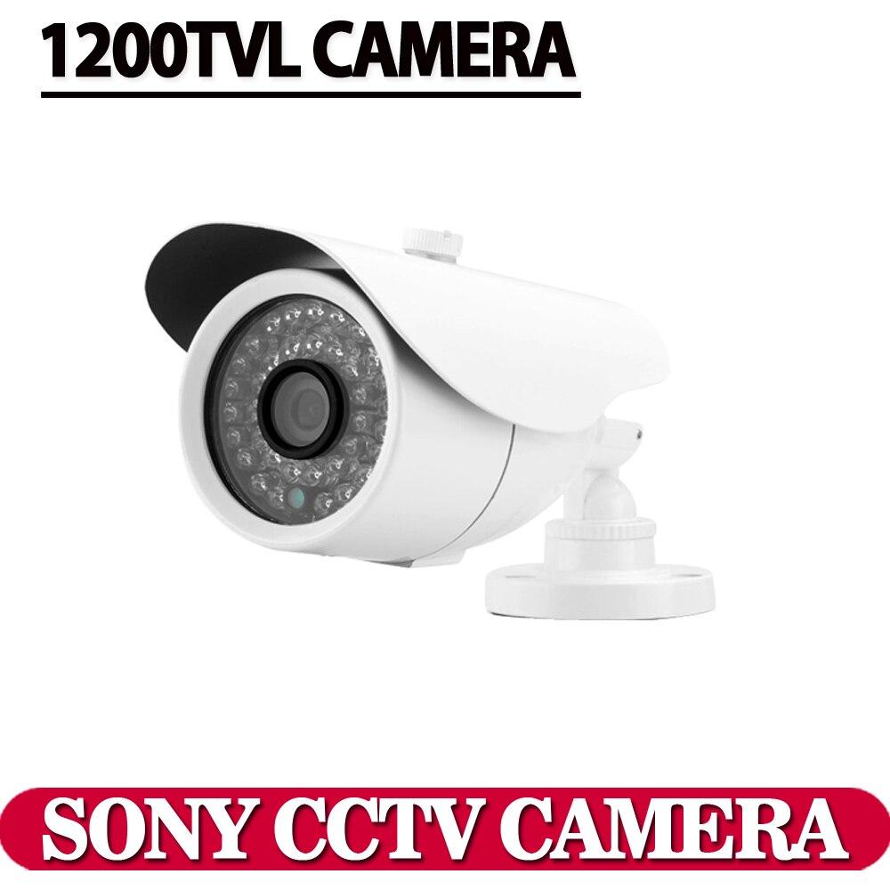 """imágenes para Envío libre 2016 nuevo 1/3 """"sony ccd hd 1200tvl impermeable sistema de cámaras de cctv de seguridad al aire libre cámara de infrarrojos de 100 metro"""