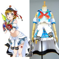 LoveLive Sailor Kostüm Liebe Live Koizumi Hanayo Navy Uniform Mädchen Marine Anime Halloween Cosplay Kostüme Für Frauen