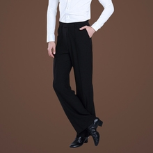 Hot-selling adult male pocket Latin dance trousers square pants ballroom dancing modern mens
