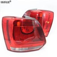 Rear Car light For VW Polo 6R Hatchback 2009 2010 2011 2012 2013 2014 New Rear Light Tail Light