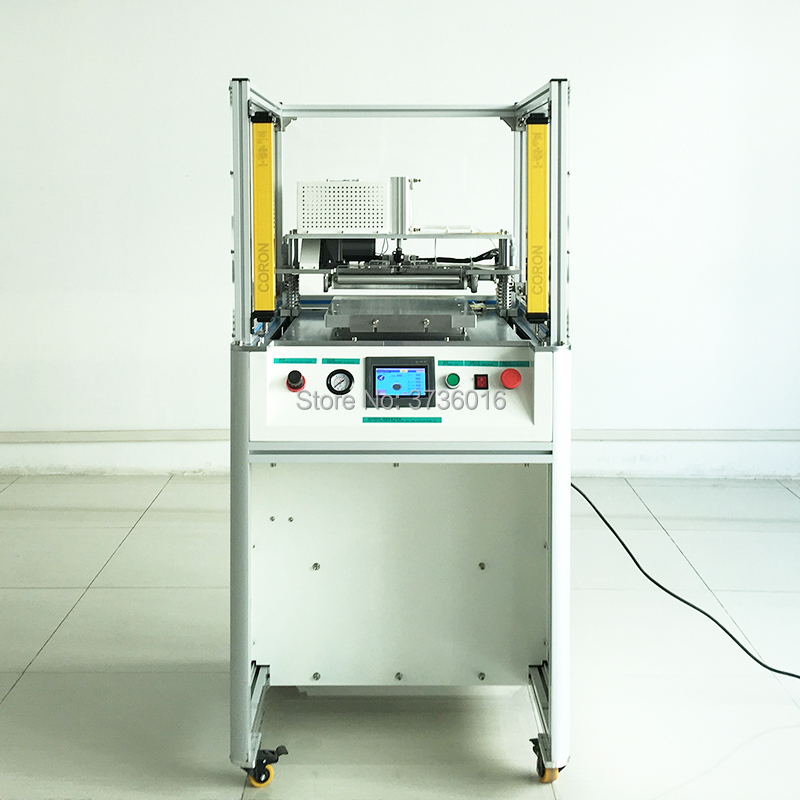 YMJ glue remove machine for tablet lcd max 15 inch lcd oca loca glue remover tablet screen refurbish use