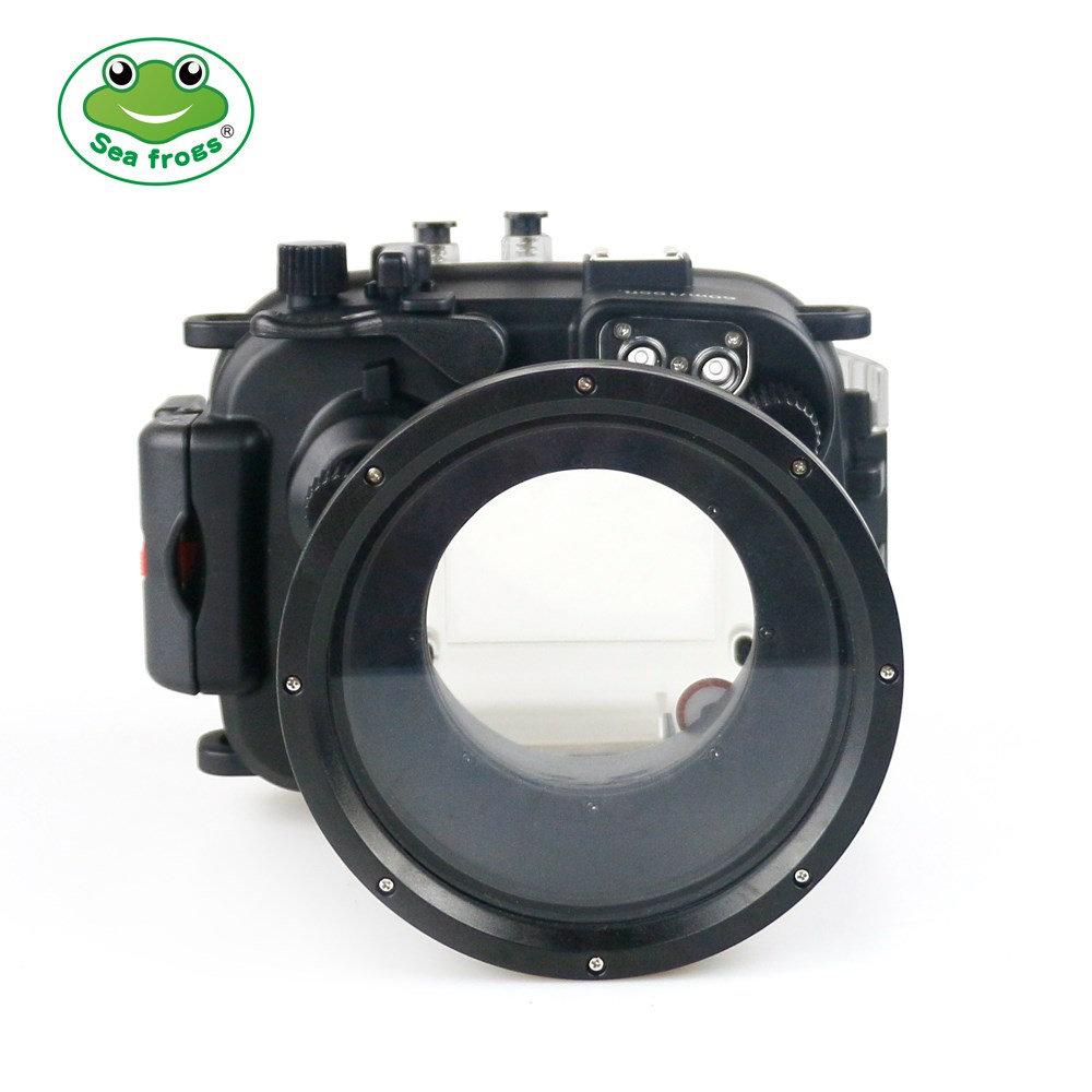 Underwater 40m Photography for Canon G1 X Mark II Camera Waterproof Housing Case Professional Photographic Camera Accessories