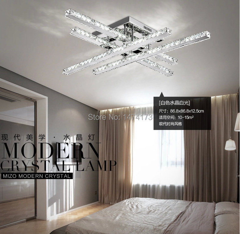 2014 modern light fixture living room lustre led crystal ceiling lights for bedroom home foyer led ceiling light lighting in ceiling lights from lights - Modern Light Fixtures For Living Room