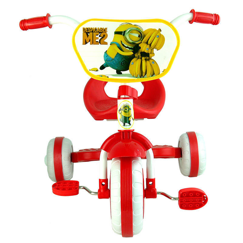 b689466248d DESPICABLE ME 2 MINION TRIKE TRICYCLE TODDLER KID CHILD 3 WHEEL CAR RIDE ON  BABY TOY GIFT-in Ride On Cars from Toys & Hobbies on Aliexpress.com |  Alibaba ...