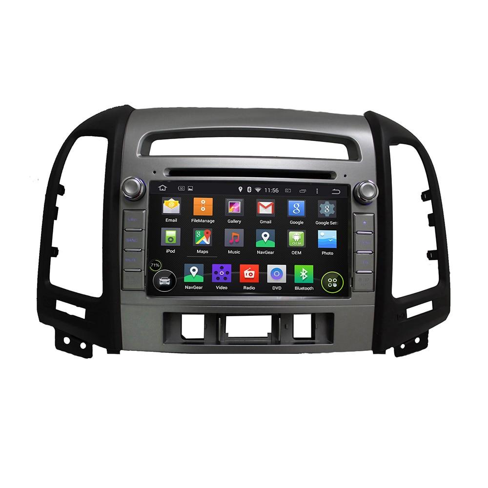 KLYDE 7 2 Din Android 8.1 Car Radio For Hyundai SANTA FE 2012 Car Audio 2+16GB Multimedia Player Quad Core Car Stereo DVD