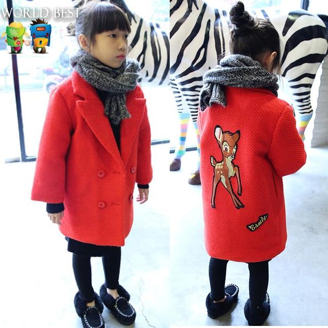 0b96e6283f73 Girls Winter Coat New Arrival 2015 Girls Clothes Plus Velvet Girls ...