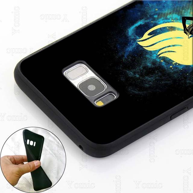 Fairy Tail logo Silicone Case for Samsung Galaxy S10e S10 S8 S9 Plus S7 A40 A50 A70 Note 8 9