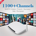 Arabic Iptv Box Q9 Two Antenna Strong Wifi with Android APK QHDTV Arabic French IPTV Account IPTV Server Hot Selling In Europe