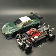 MINI D1/28RC สี่ล้อไดรฟ์ AWD โพสต์   ไดรฟ์ RWD ด้านหน้าล้อระยะไกลความเร็วสูง   ควบคุมไฟฟ้ารุ่น