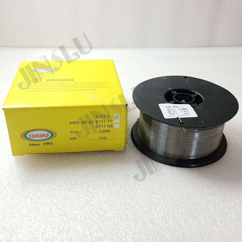 E71T-1 High Tensile Steel Flux Cored Wire 0.8mm 1KG/ROLL Сварка