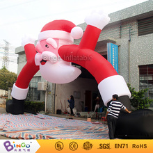 inflatable Christmas arch decoration door entrance 10m/33Ft.wide toy