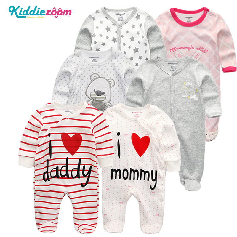 Newborn Rompers Clothes Baby Boys Infant Wear Use 100% Soft Cotton Clothes Overalls Baby Clothing For New Girl Clothes 0-1 Years