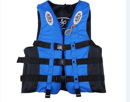 Спасательный жилет для активного отдыха Профессиональный купальный костюм для плавания рыбалка воды спортивная жизнь жилеты для Adut и детей 4 цвета 6 Размер - Цвет: Синий