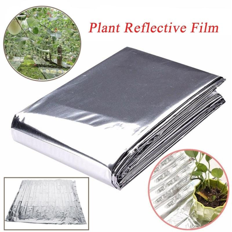 Double Sides Agricultural PET Reflective Film Greenhouses Fruit Trees Grapes Increasing Temperature Light Reflective Film