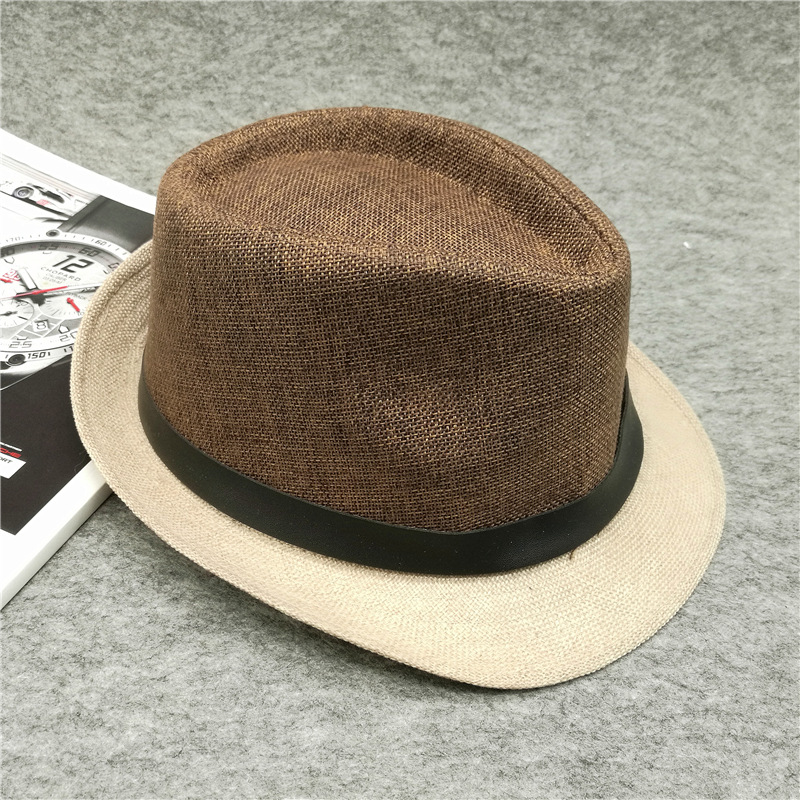5d8453edc28 2018 Summer men Women Sun Hat Beach Caps Casual travel Straw for sombreros  Panama pork pie cowboy hat-in Baseball Caps from Apparel Accessories on ...