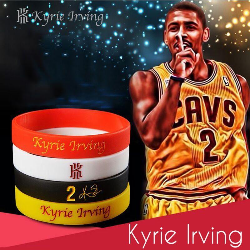 MACHUKA Store MACHUKA Sport Basketball Energy Bracelet Kyrie Irving Durant Style Power Rubber Bangle Silicone Soccer Motivational Wristbands
