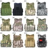 Outdoor Sports Tactical Vest Men Military Molle Hunting Vest For Adult Durable Tactical Equipment Camouflage Solid Vest