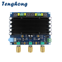 Tenghong TPA3116D2 HIFI Digital Audio Amplifier Board 150W+150W 2.0 Dual channel Stereo Digital Power Amplificador With Tone AMP