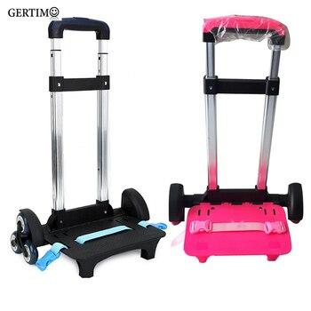 3 Wheel Fold Pull Rod Bracket Roll Cart Trolley ,mochila infantil rodinha mochilas Backpacks School Bags easy climb the stairs