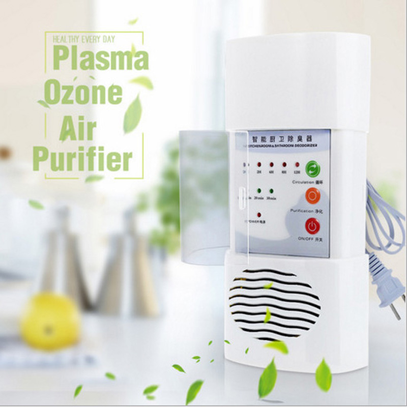 Ozone Generator Air Purifier Home Air Cleaner Deodorizer Sterilization Germicidal Electric Portable Oxygen Concentrator Filter air ozonizer air purifier deodorizer ozone ionizer generator sterilization germicidal filter disinfection clean for home