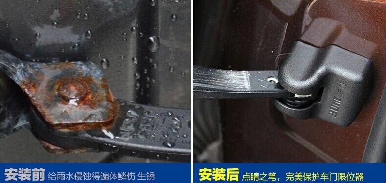 Superb двери автомобиля замок дверь, чтобы проверить Руку Крышка 4 шт. для Toyota Land Cruiser Prado FJ120 FJ150 2008-2014
