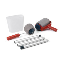 6Pcs Set Practical Decoration Paint Roller Painting Brush Household Wall Tool Sets Painting Accessories Home Use