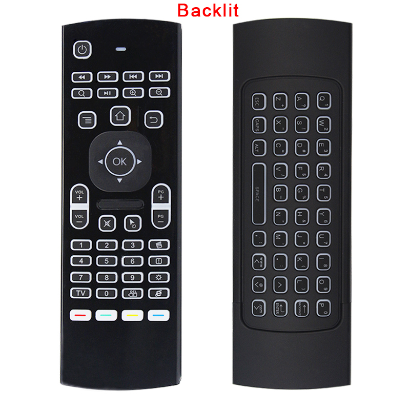 2.4G Air Mouse Keyboard Back light IR Learning Motion